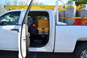 Rapid Recovery trucks safely and efficiently carry necessary tools and supplies to job sites in an effort to ensure maximum customer satisfaction.